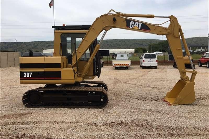 Caterpillar Roll Back Cat 307 Excavators Cat 307