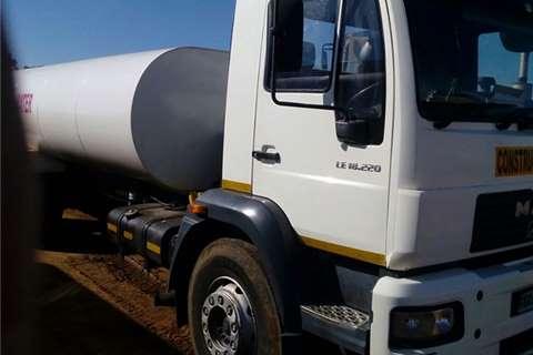 MAN M2000 Water Tanker Truck Truck