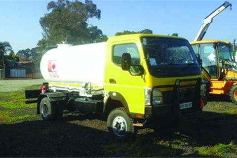 Fuso Canter 5000LT Diesel Tank Truck for sale