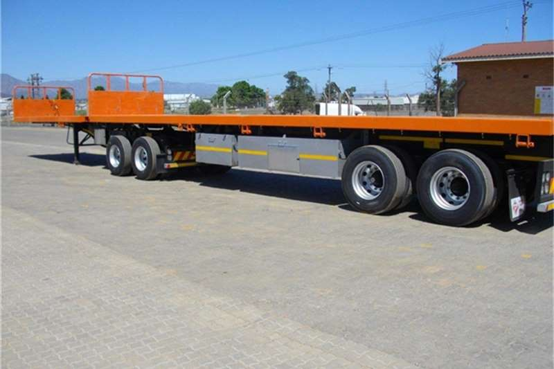 Paramount Flat Deck 6 12 Flatbed Interlink Trailers