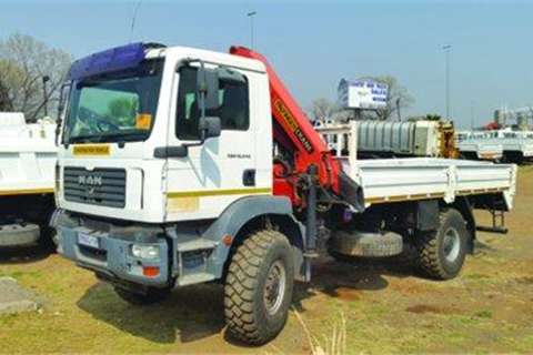 MAN Crane truck MAN F2000 45Ton Palfinger Truck for sale