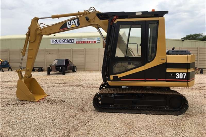 Caterpillar Roll back CAT 307 Excavators