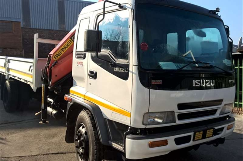 Isuzu Crane truck FTR800 Truck