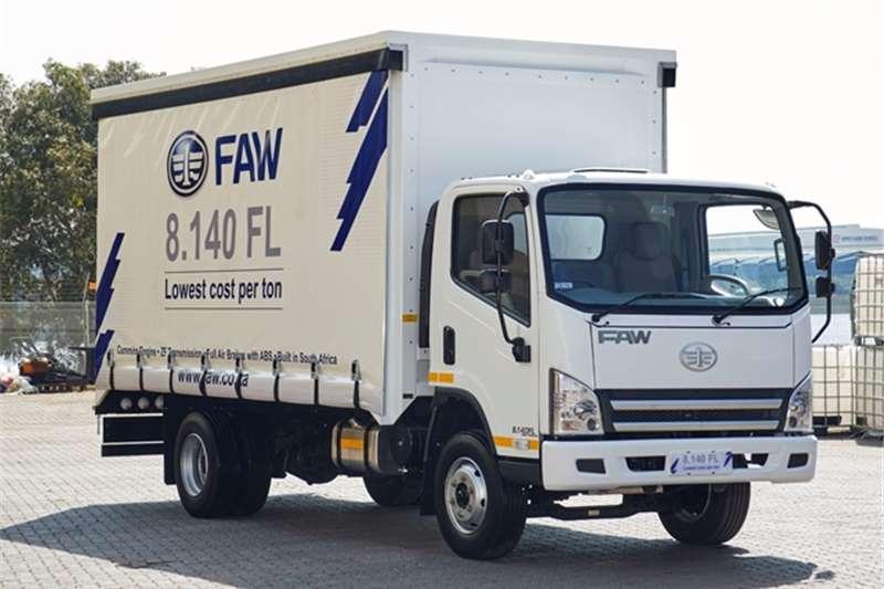 FAW Curtain side 8.140FL - Curtain Side Truck