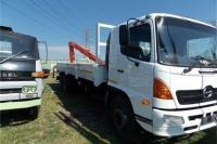 Hino Crane truck Hino 500 8t Drop + Crane Truck