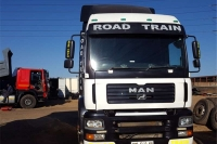MAN double axle MAN TGA 26.480 HORSE Truck-Tractor