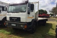 MAN Flat deck 14-224 Truck