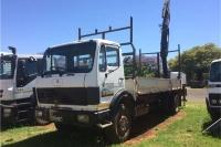 Mercedes Benz Crane truck 1417 Truck
